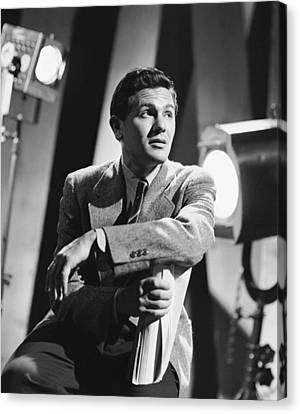 John Garfield, No Date Canvas Print by Everett