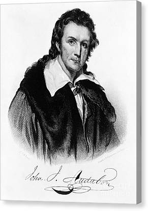 John James Audubon, French-american Canvas Print by Photo Researchers, Inc.