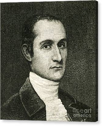 John Jay, American Founding Father Canvas Print by Photo Researchers