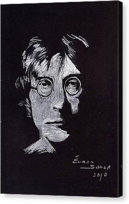John Lennon Canvas Print by Eamon Gilbert