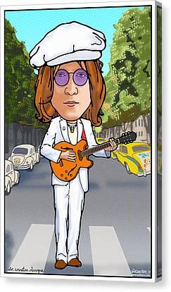 John Lennon Canvas Print by John Goldacker
