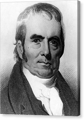 John Marshall, 1755-1835, Chief Justice Canvas Print by Everett