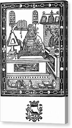 John Peckham, Anglican Theologian Canvas Print by Science Source