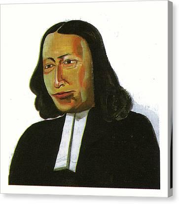 John Wesley Canvas Print by Emmanuel Baliyanga