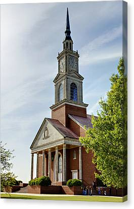 John Wesley Raley Chapel Canvas Print by Ricky Barnard