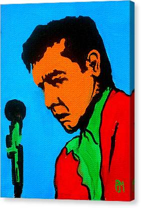 Johnny Pop II Canvas Print by Pete Maier
