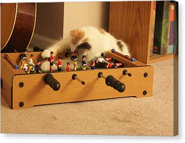 Jolie-boo Foosball Canvas Print by Rdr Creative