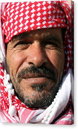 Jordanian Man Canvas Print by Munir Alawi