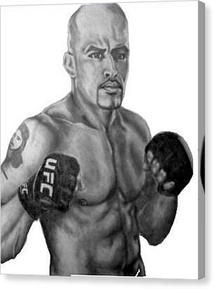Jorge Rivera Canvas Print by Audrey Snead