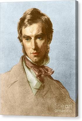 Joseph Dalton Hooker, English Botanist Canvas Print