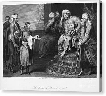 Joseph Interpreting Dream Canvas Print