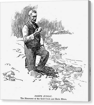 Joseph Juneau (1826-1899) Canvas Print by Granger