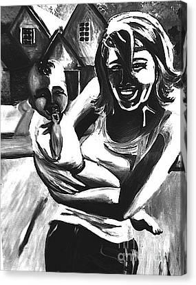 Joy Canvas Print by Jeffrey Kyker