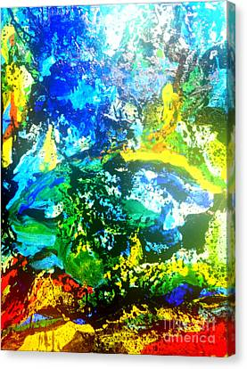 Joy Canvas Print by Pauli Hyvonen