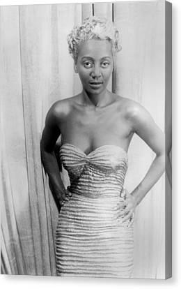 Joyce Bryant, African American Singer Canvas Print by Everett