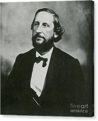 Judah P. Benjamin, Confederate Canvas Print by Photo Researchers