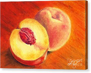 Juicy Fruit Canvas Print by Iris M Gross