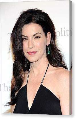 Metropolitan Opera House At Lincoln Center Canvas Print - Julianna Margulies At Arrivals by Everett