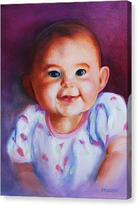 Julianne Canvas Print by Peggy Wrobleski