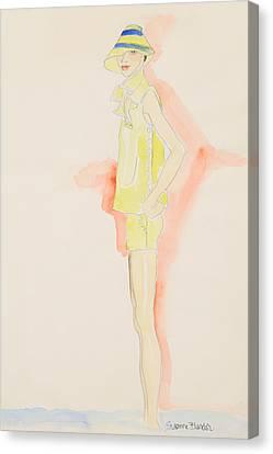 Julie Canvas Print by Suzanne Blender