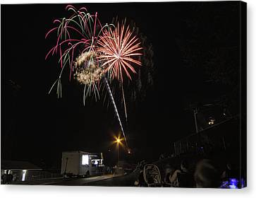 Canvas Print featuring the photograph July 4th 2012 by Tom Gort