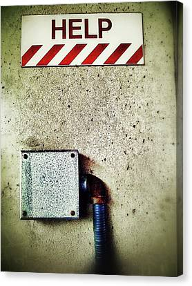 Junction Box Canvas Print by Olivier Calas