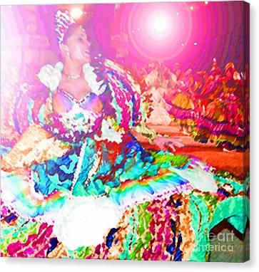 June Festival 1 Canvas Print by Rosane Sanchez