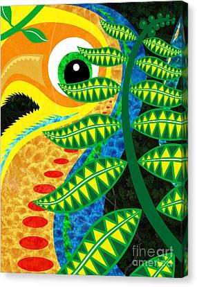 Jungle Bird Canvas Print by Robert Ball