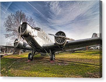Junkers Ju-52 Canvas Print by Miguel Diaz