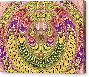 Repeat Canvas Print - Jupiter's Key by Betsy Knapp