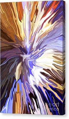 Just Abstract Iv Canvas Print