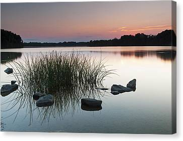 Just Another Sunset Canvas Print by Edward Kreis