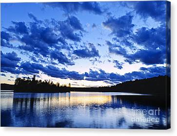 Just Before Nightfall Canvas Print by Elena Elisseeva