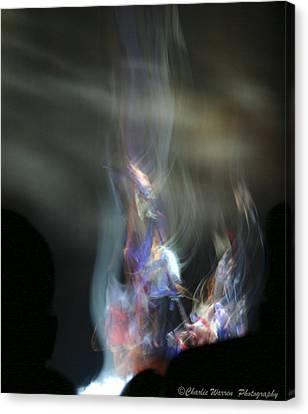 Ka - Dance Like A Dervish  Canvas Print by Charles Warren