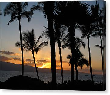 Kaanapali Sunset Canvas Print