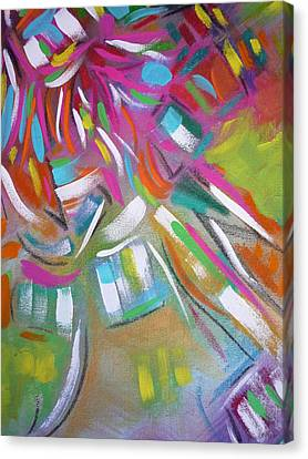 Kachina Bells Canvas Print by George  Page