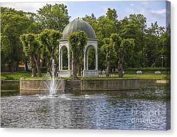 Kadriorg Park 2 Canvas Print by Clare Bambers