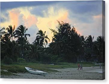 Kailua Beach Sunset Canvas Print