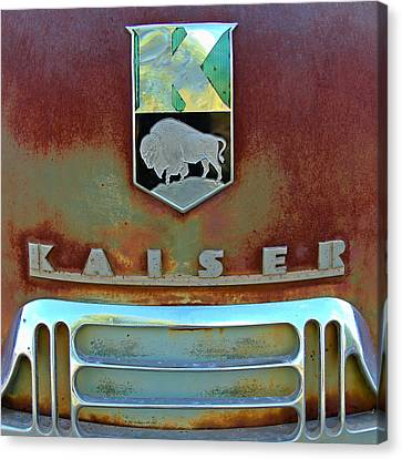 Kaiser Vintage Grill Two Canvas Print by Tony Grider