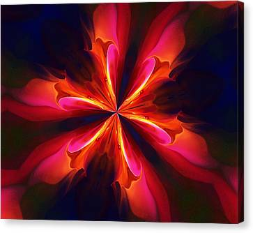 Kaliedoscope Flower 121011 Canvas Print