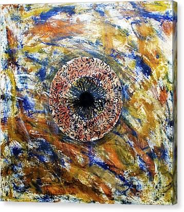 Kalyug Canvas Print by Sumit Mehndiratta