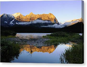 Kananaskis Country Canvas Print by Christian Heeb