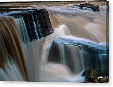Kang Sopa Waterfall Canvas Print by Arthit Somsakul