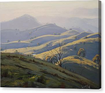 Kanimbla Valley Morning Canvas Print by Graham Gercken