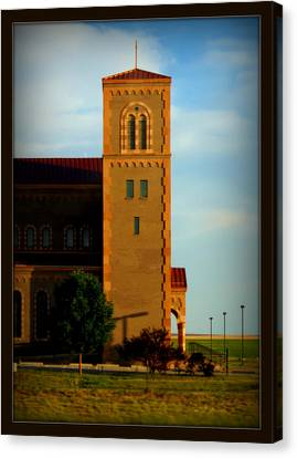 Canvas Print featuring the photograph Kansas Architecture by Jeanette C Landstrom