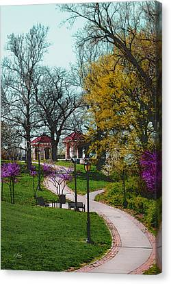 Kansas City Color Canvas Print
