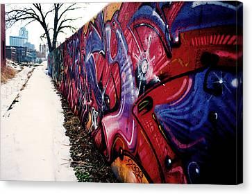 Kansas City Graffiti  Canvas Print