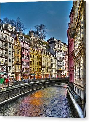 Karlovy Vary - Ceska Republika Canvas Print by Juergen Weiss