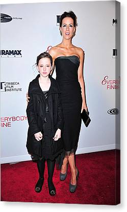 Kate Beckinsale, Daughter Lily Sheen Canvas Print