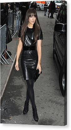Kate Beckinsale Out And About For Kate Canvas Print
